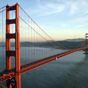 Golden Gate Bridge is listed (or ranked) 7 on the list The Best Tourist Attractions in America