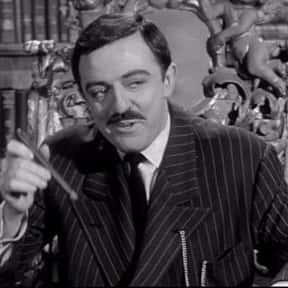 Gomez Addams is listed (or ranked) 16 on the list The Greatest Lawyer Characters in TV History