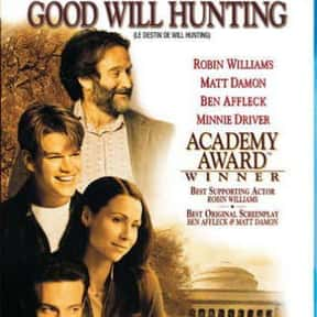 Good Will Hunting is listed (or ranked) 9 on the list The Most Inspirational Movies Ever