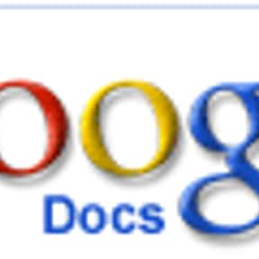 Google Docs is listed (or ranked) 8 on the list Word Processor Programs, Applications, Systems and Platforms
