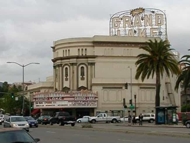 Grand Lake Theater is listed (or ranked) 2 on the list Famous Egyptian Revival architecture buildings