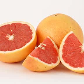 Grapefruit is listed (or ranked) 7 on the list Low Fat foods