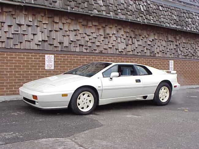 1988 Lotus Esprit Turbo ... is listed (or ranked) 3 on the list The Best Lotus Esprits of All Time
