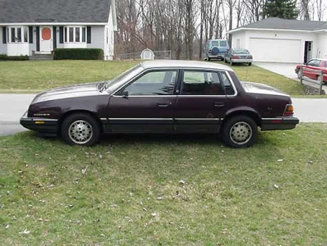 1985 Pontiac 6000 Sedan ... is listed (or ranked) 2 on the list List of Popular Pontiac Sedans