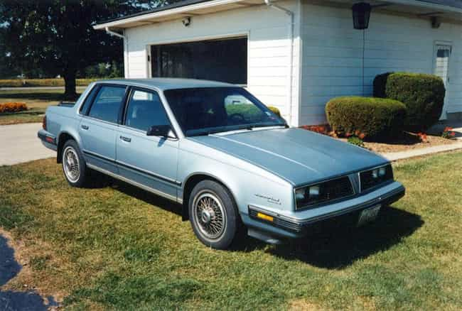 1986 Pontiac 6000 Coupé is listed (or ranked) 2 on the list List of 1986 Pontiacs