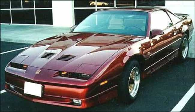 1989 Pontiac Firebird is listed (or ranked) 4 on the list The Best Pontiac Firebirds of All Time
