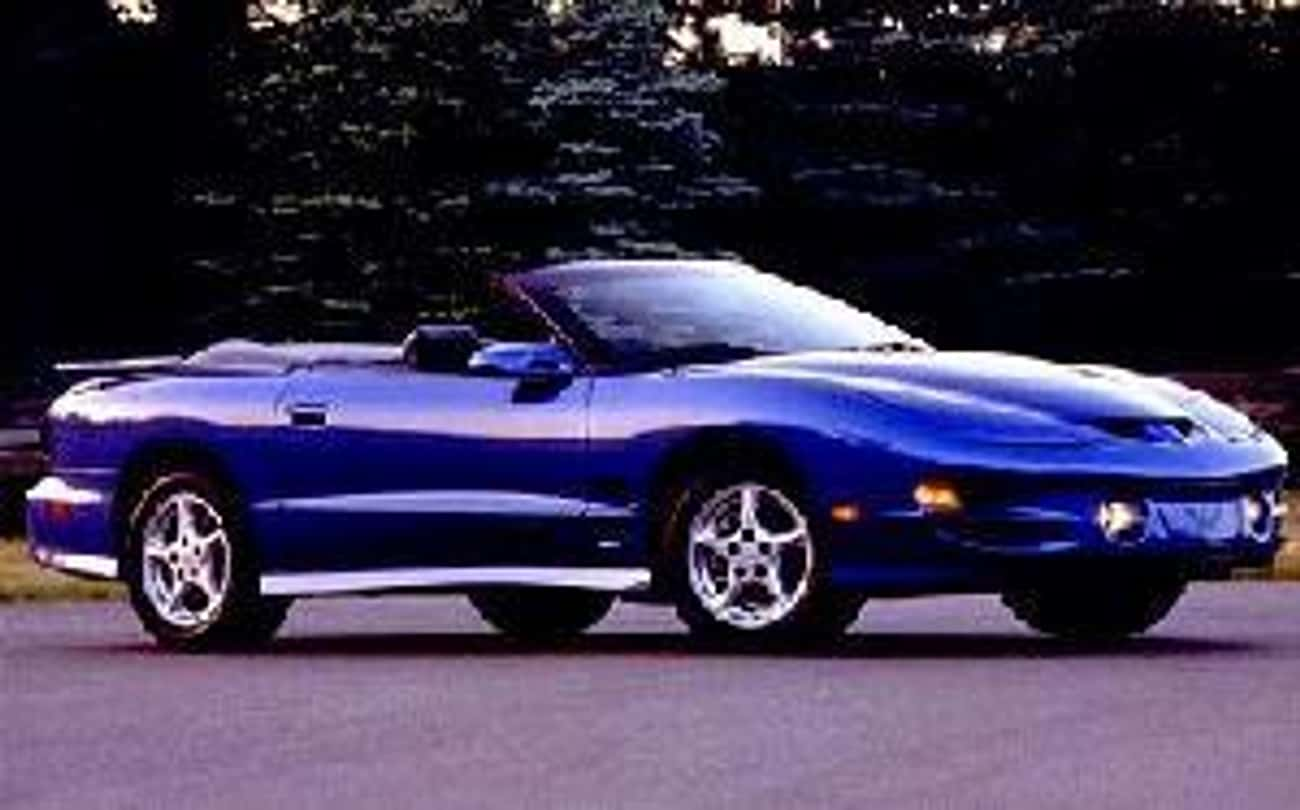 2000 Pontiac Firebird Converti is listed (or ranked) 2 on the list List of 2000 Pontiacs