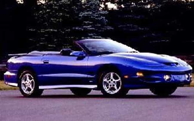 2000 Pontiac Firebird Co... is listed (or ranked) 2 on the list List of 2000 Pontiacs