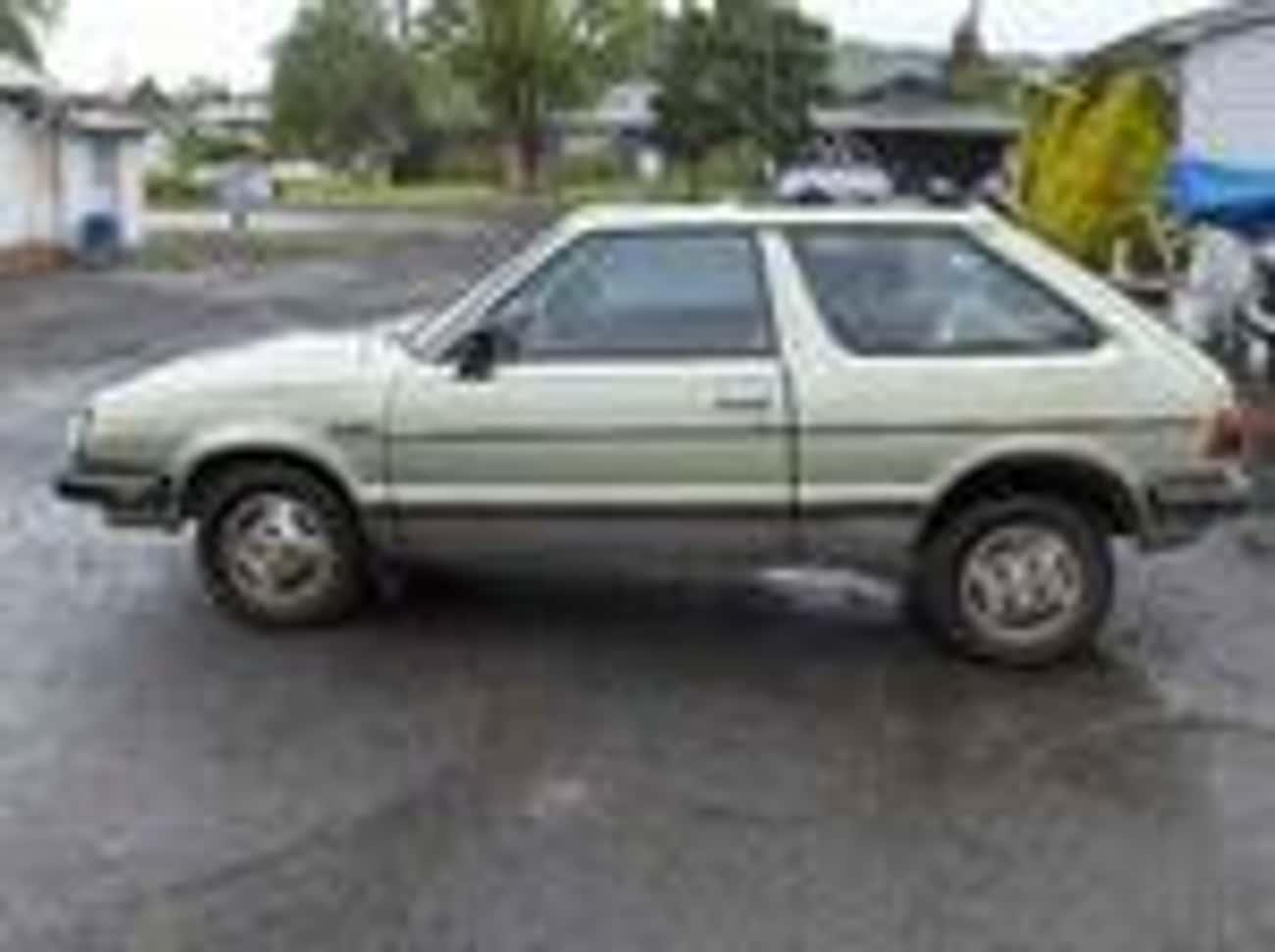 1985 Subaru Hatchback Hatchbac is listed (or ranked) 2 on the list List of 1985 Subarus