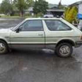 1985 Subaru Hatchback Hatchback