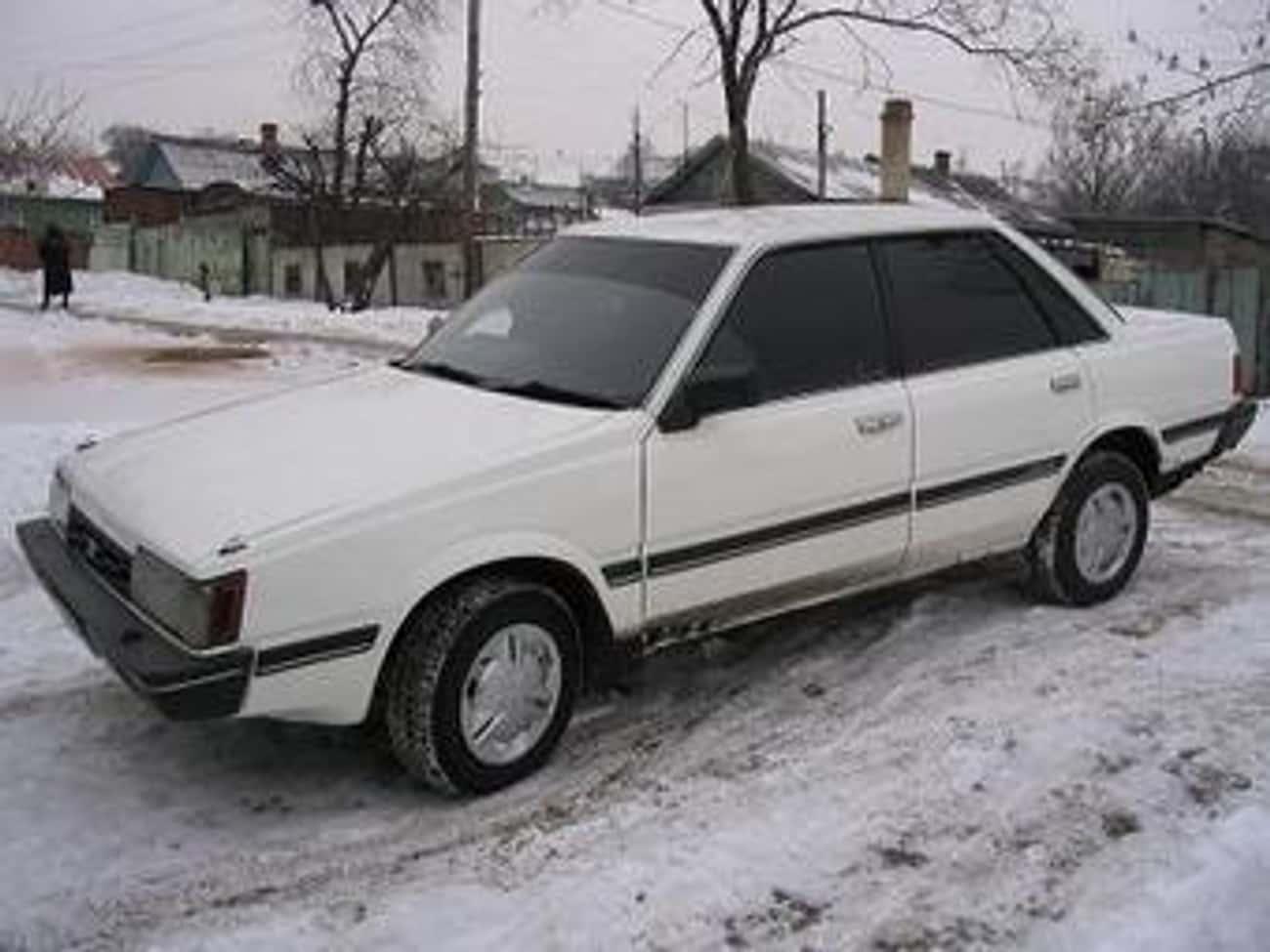 1985 Subaru Sedan Sedan is listed (or ranked) 4 on the list List of 1985 Subarus