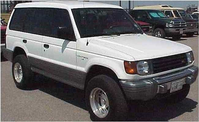 1995 Mitsubishi Montero is listed (or ranked) 1 on the list The Best Mitsubishi Pajeros of All Time