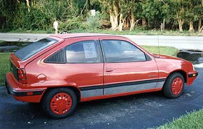 1989 Pontiac LeMans Seda... is listed (or ranked) 4 on the list List of Popular Pontiac LeManss