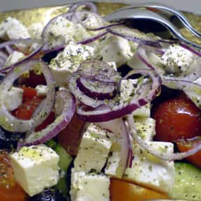 Greek salad is listed (or ranked) 21 on the list The Best Outdoor Summer Side Dishes