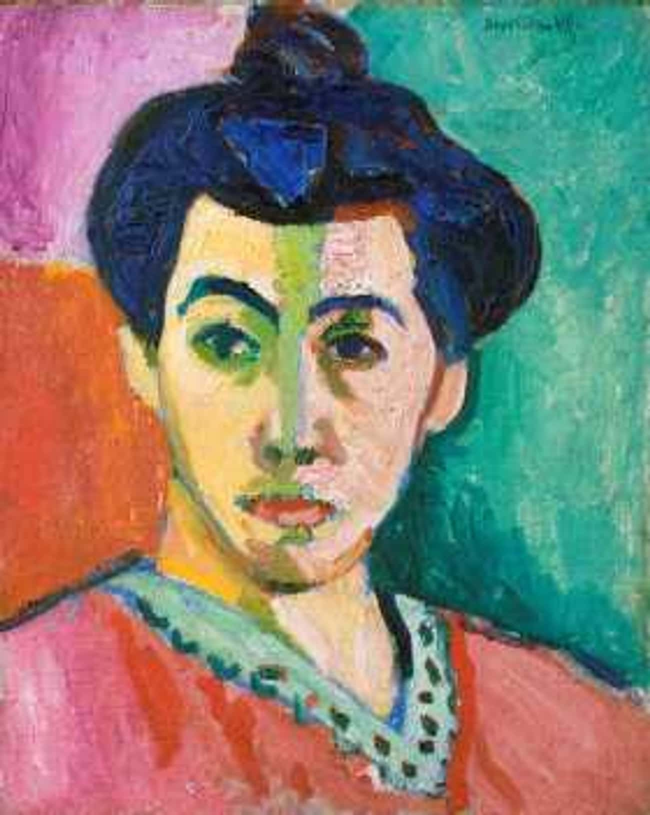 Green Stripe is listed (or ranked) 3 on the list Famous Fauvism Paintings