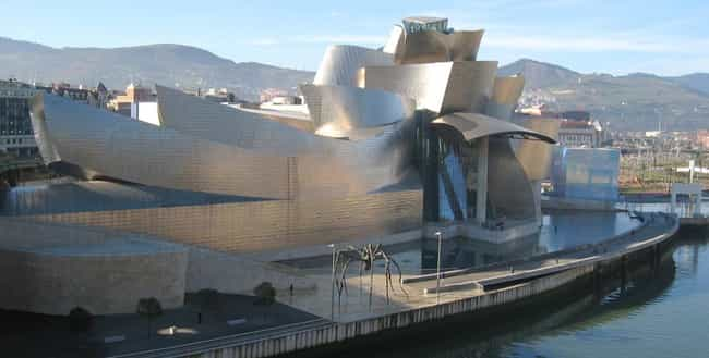 Guggenheim Museum, Bilba... is listed (or ranked) 4 on the list Famous Expressionist architecture buildings