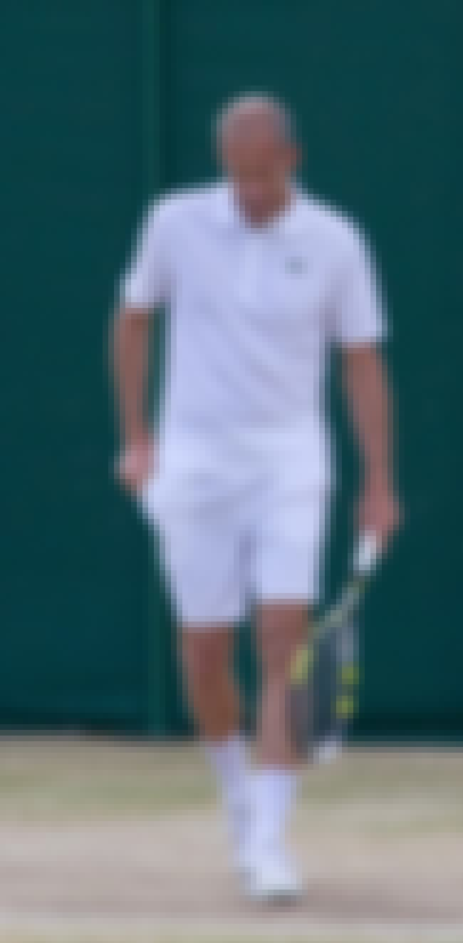 Guy Forget is listed (or ranked) 5 on the list Left Handed Tennis Players