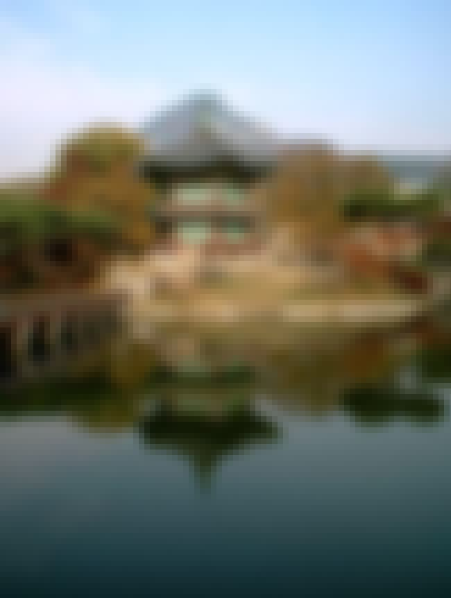 Gyeongbokgung is listed (or ranked) 3 on the list Famous Chinese architecture buildings