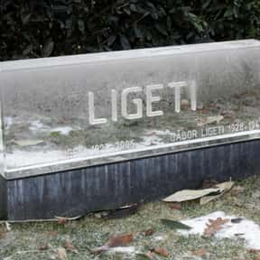 György Ligeti is listed (or ranked) 8 on the list Famous People Buried in Vienna