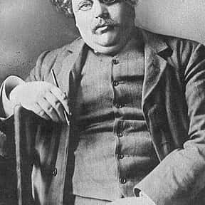 G. K. Chesterton is listed (or ranked) 13 on the list List of Famous Orators