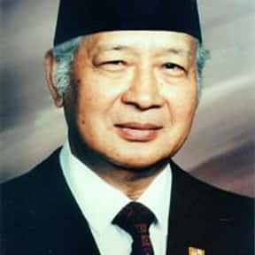 Suharto is listed (or ranked) 1 on the list Famous People From Indonesia