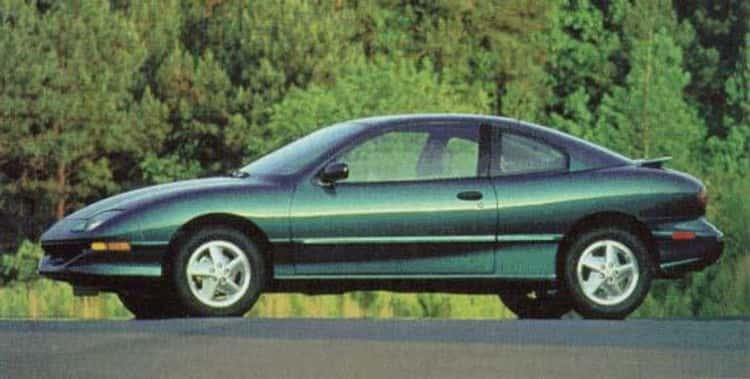 1996 Pontiac Sunfire Convertible