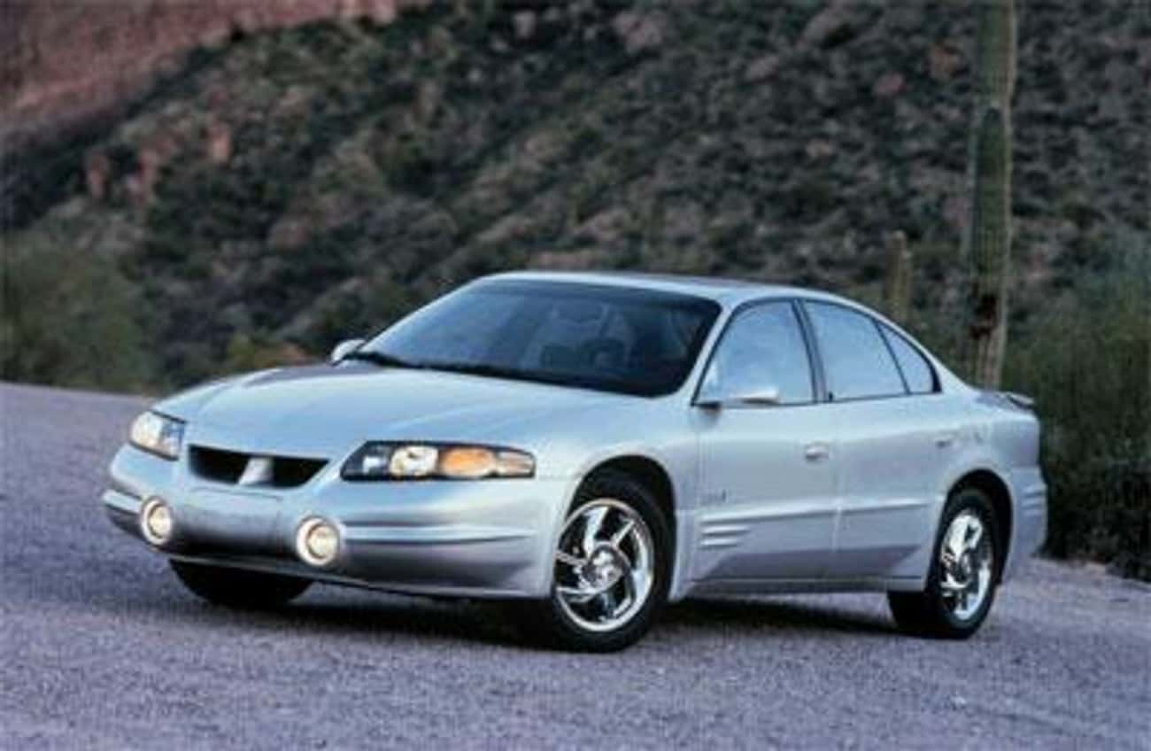 2000 Pontiac Bonneville is listed (or ranked) 1 on the list List of 2000 Pontiacs