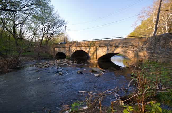 Adams Avenue Bridge is listed (or ranked) 3 on the list Bridges in Pennsylvania