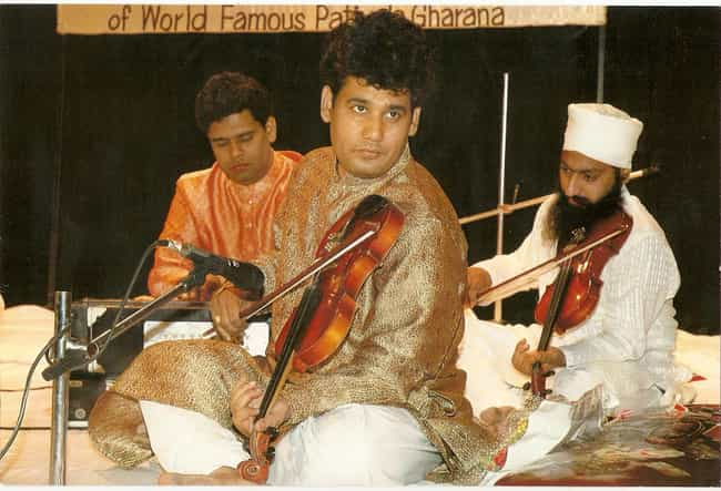 Johar Ali Khan is listed (or ranked) 4 on the list Famous Violinists from India