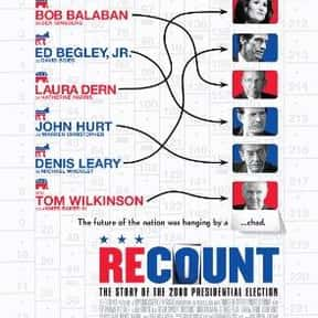 Recount is listed (or ranked) 17 on the list The Best Political Drama Movies, Ranked