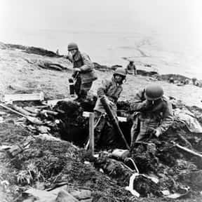 Battle of Attu is listed (or ranked) 9 on the list World War II Battles Involving the United States Of America