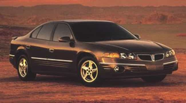 2001 Pontiac Bonneville ... is listed (or ranked) 3 on the list List of 2001 Pontiacs