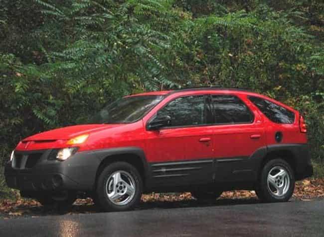 2001 Pontiac Aztek SUV FWD is listed (or ranked) 2 on the list List of 2001 Pontiacs
