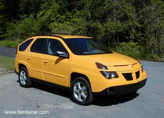 2002 Pontiac Aztek Suv Fwd Is Listed Or Ranked 4 On The List