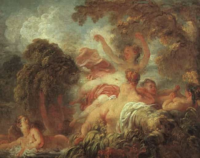 Popular Rococo Paintings Famous Paintings From The Rococo Movement - Rococo painting