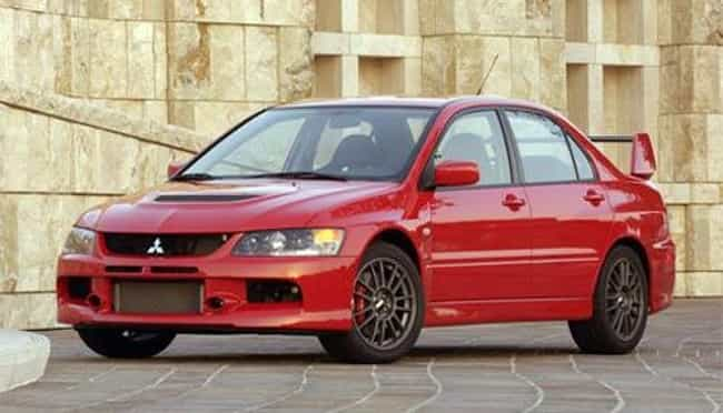 2006 Mitsubishi Lancer Evoluti Is Listed Or Ranked 2 On The