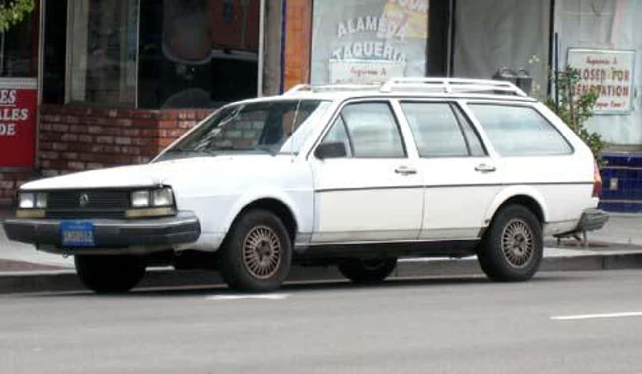 1985 Volkswagen Quantum Hatchb is listed (or ranked) 3 on the list List of Popular Volkswagen Passenger Cars Hatchbacks
