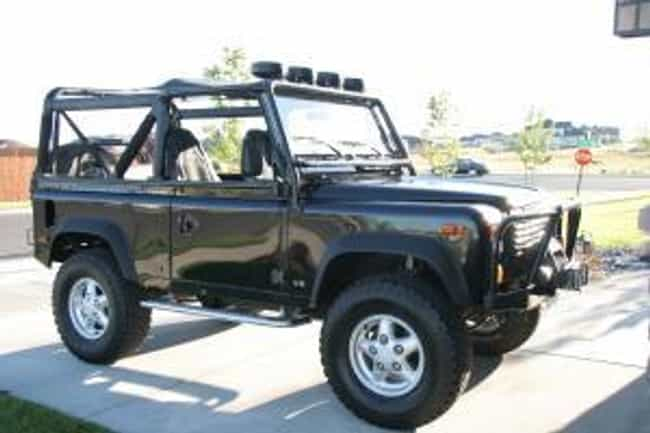 1995 Land Rover Defender 90 St... is listed (or ranked) 3 on the list The Best Land Rover Defenders of All Time