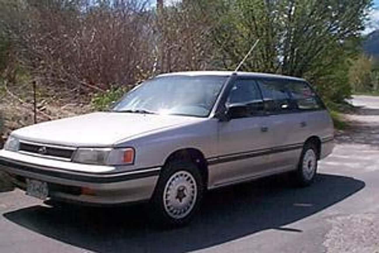 1990 Subaru Legacy Sedan 4WD is listed (or ranked) 3 on the list The Best Subaru Legacys of All Time