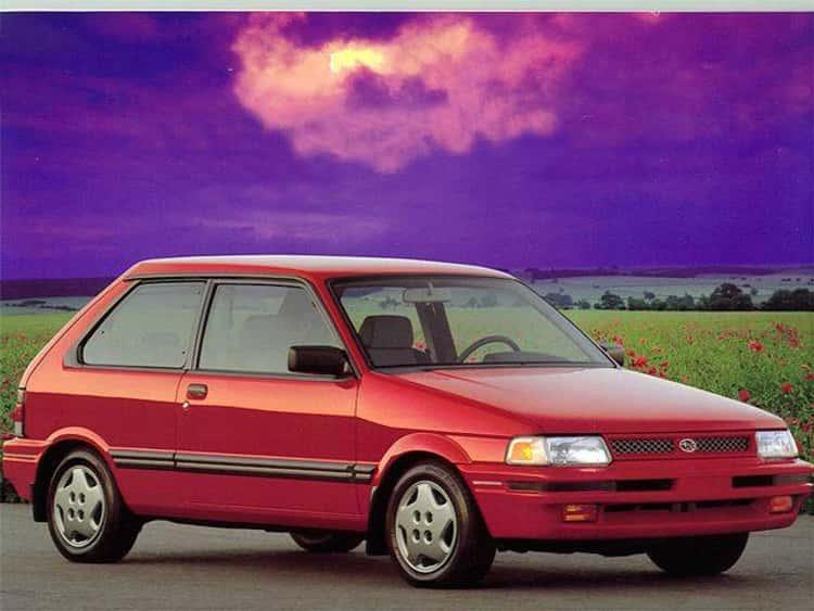 1993 Subaru Justy Hatchback AWD