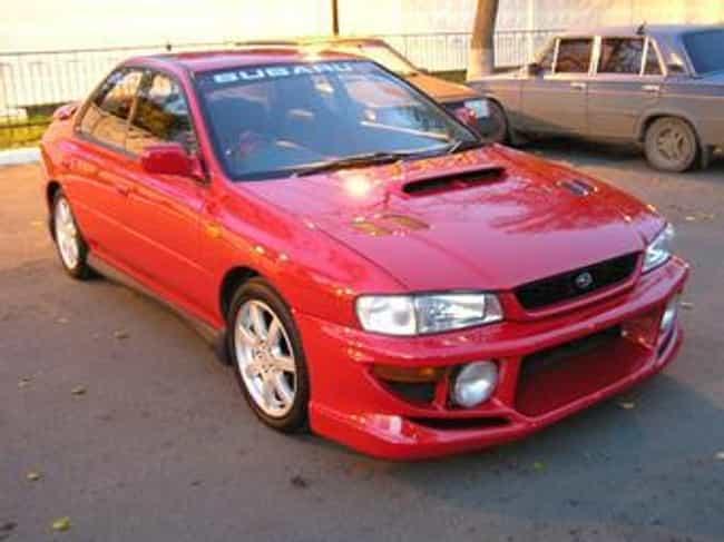 1994 Subaru Impreza Station Wa... is listed (or ranked) 3 on the list List of Popular Subaru Imprezas