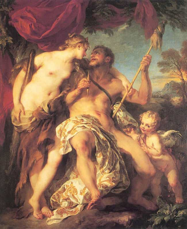 Hercules and Omphale is listed (or ranked) 2 on the list Famous Rococo Paintings