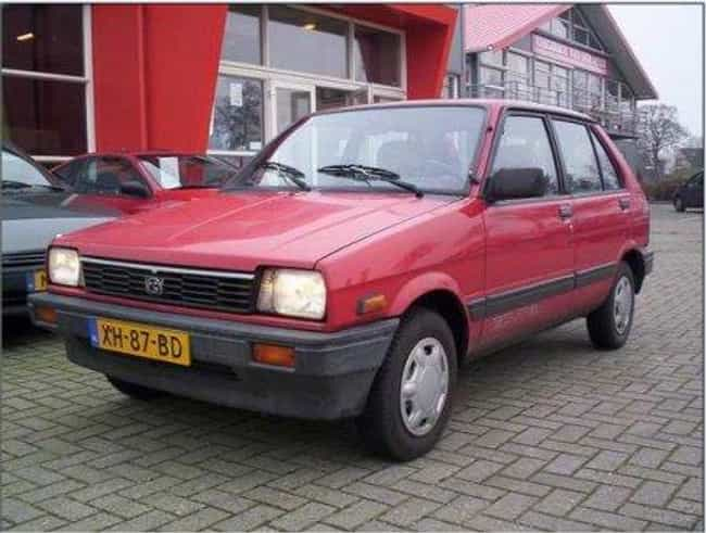 1988 Subaru Justy Hatchb... is listed (or ranked) 4 on the list List of 1988 Subarus