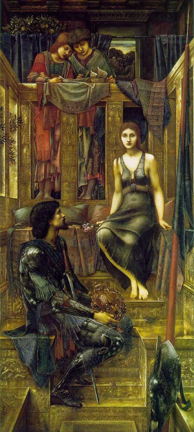 King Cophetua and the Be... is listed (or ranked) 2 on the list Famous Symbolism Paintings