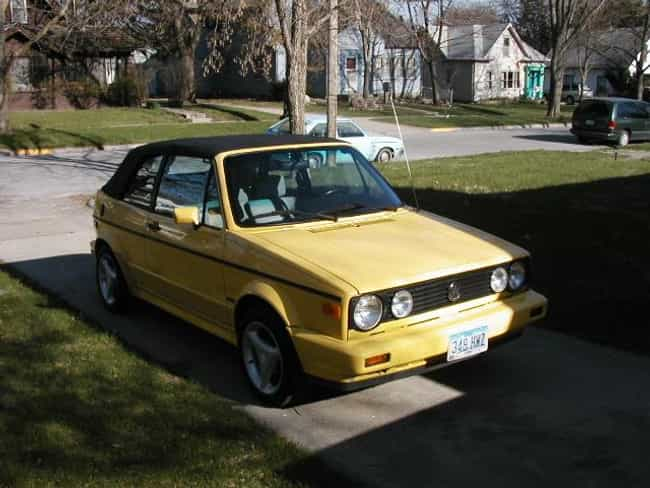 1990 Volkswagen Cabriole... is listed (or ranked) 1 on the list List of 1990 Volkswagen Passenger Carss