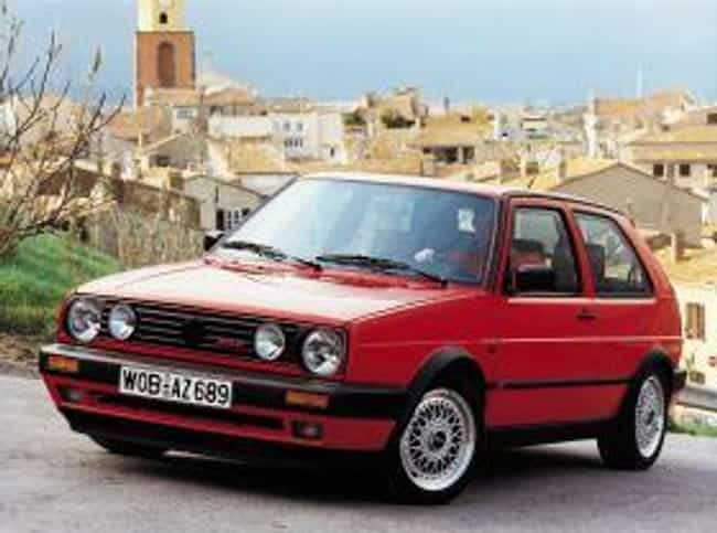 1990 Volkswagen Golf is listed (or ranked) 3 on the list The Best Volkswagen Golfs of All Time