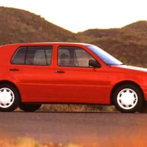 1996 Volkswagen Golf Hatchback is listed (or ranked) 4 on the list The Best Hatchbacks of All Time