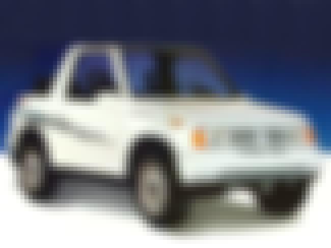 1993 Suzuki Sidekick SUV Hardt... is listed (or ranked) 4 on the list List of 1993 Suzukis