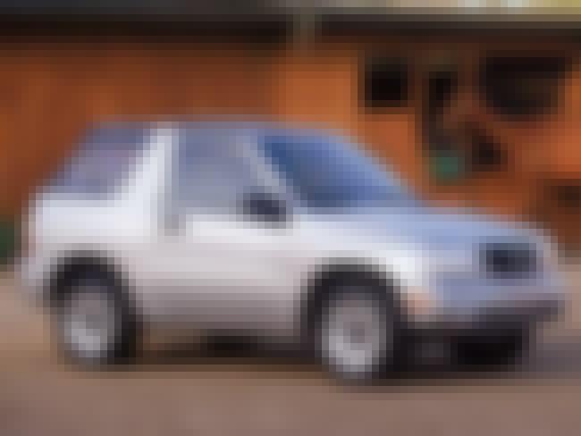 2002 Suzuki Vitara 2 Door SUV ... is listed (or ranked) 6 on the list List of Popular 2 Door SUV 4WDs
