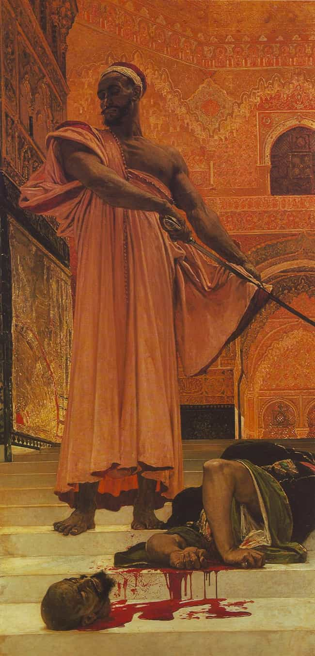Summary Execution under ... is listed (or ranked) 4 on the list Famous Henri Regnault Paintings